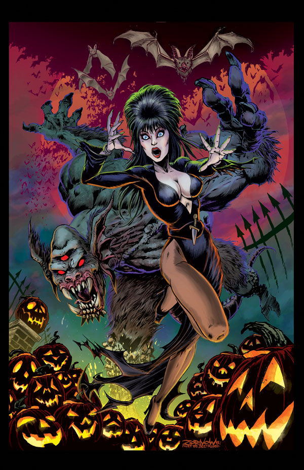 Elvira Collaborating with Some Deadly Talent on a New Comic Book Series