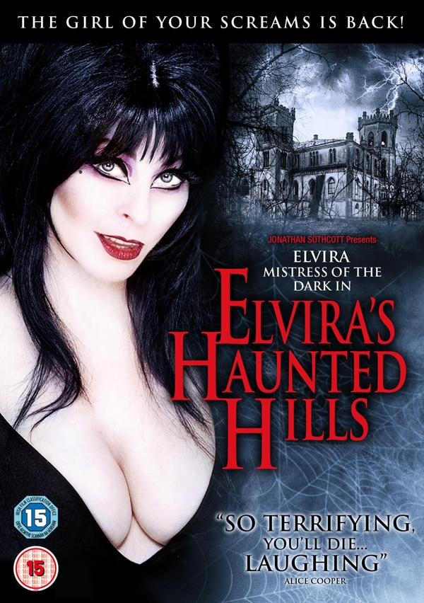 Elvira's Haunted Hills Ready to Be Climbed in the UK