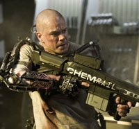 New Elysium Stills Unleash the Heavy Metal