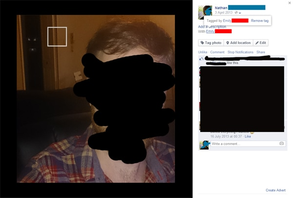 Facebook User Being Haunted by Girlfriend Online... Fact or Faked?