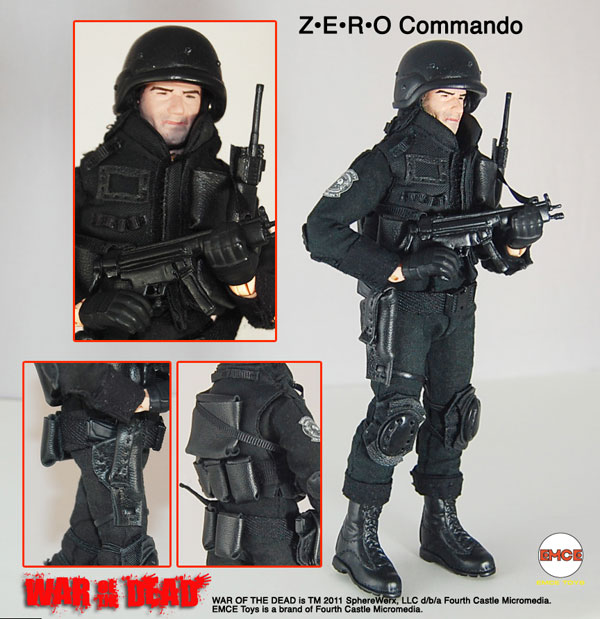 Toy Fair 2011: EMCE Toys Shows Off its Dead - New Classic NOTLD Figures and More!