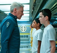 First One-Sheet from Ender's Game Heads into the War Room