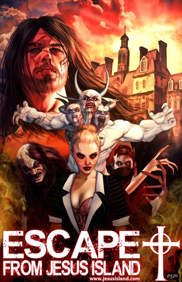 escape from jesus island 5 - Creator Shawn French Speaks on Escape from Jesus Island Moving Forward After Successful Kickstarter Campaign