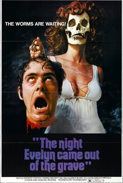 evelyn - Saturday Nightmares:  The Night Evelyn Came Out of the Grave (1971)