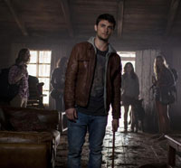 evil dead cast - Exclusive Video: Shiloh Fernandez, Jessica Lucas and Lou Taylor Pucci on the New Evil Dead (MAJOR SPOILERS!!)