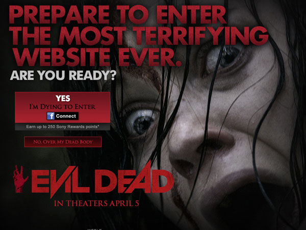 Evil Dead Opens a New Cabin Online