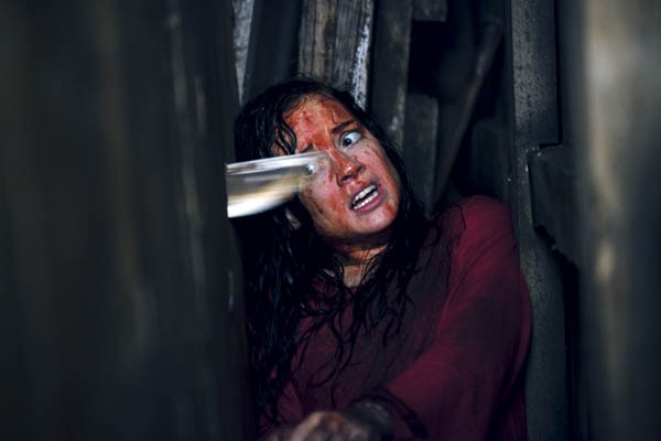 evildeadstab - New Evil Dead Image Gets to the Point