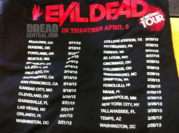 SXSW 2013: Evil Dead to Embark on a 29-City Screening Tour March 11-28
