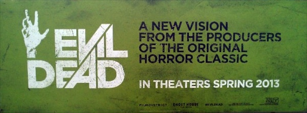 New York Comic Con 2012: New Evil Dead Banner is a Lovely Shade of Green