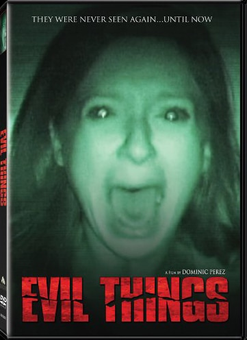Evil Things Appearing on DVD