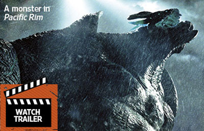 Summer Horror Preview Image Blow-Out - Pacific Rim, Mortal Instruments, World War Z, The Conjuring, You're Next and More!
