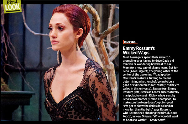 ewbc - First Look at Emmy Rossum in Beautiful Creatures