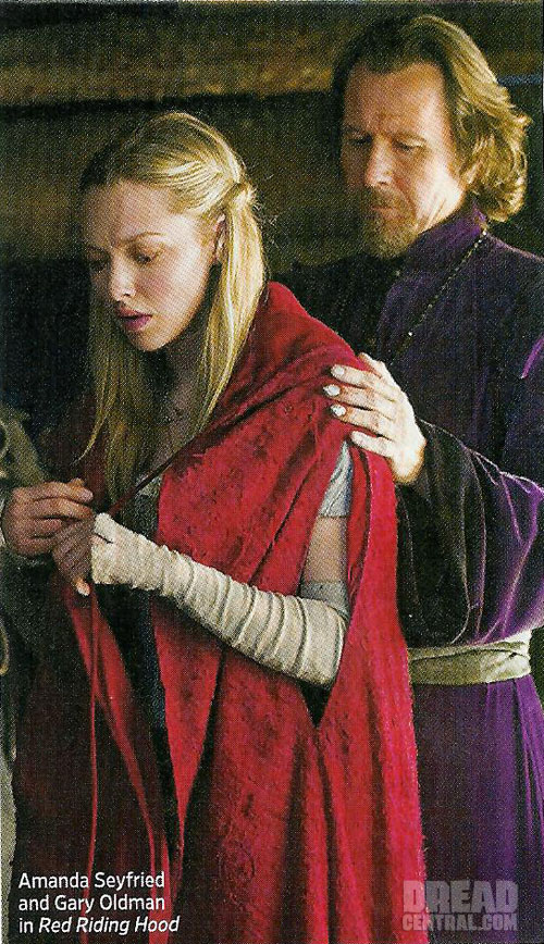 Gary Oldman Cares for Amanda Seyfried in Latest Red Riding Hood Image
