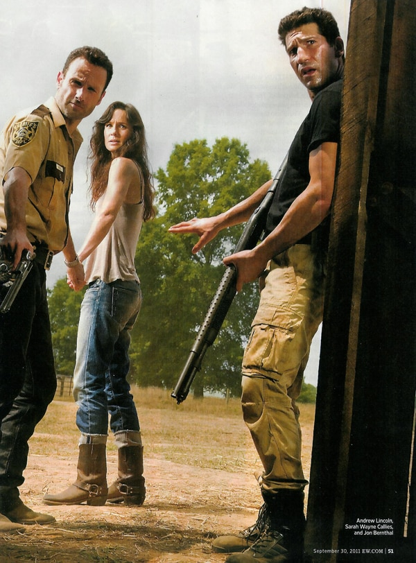 Investigate These New Images from The Walking Dead