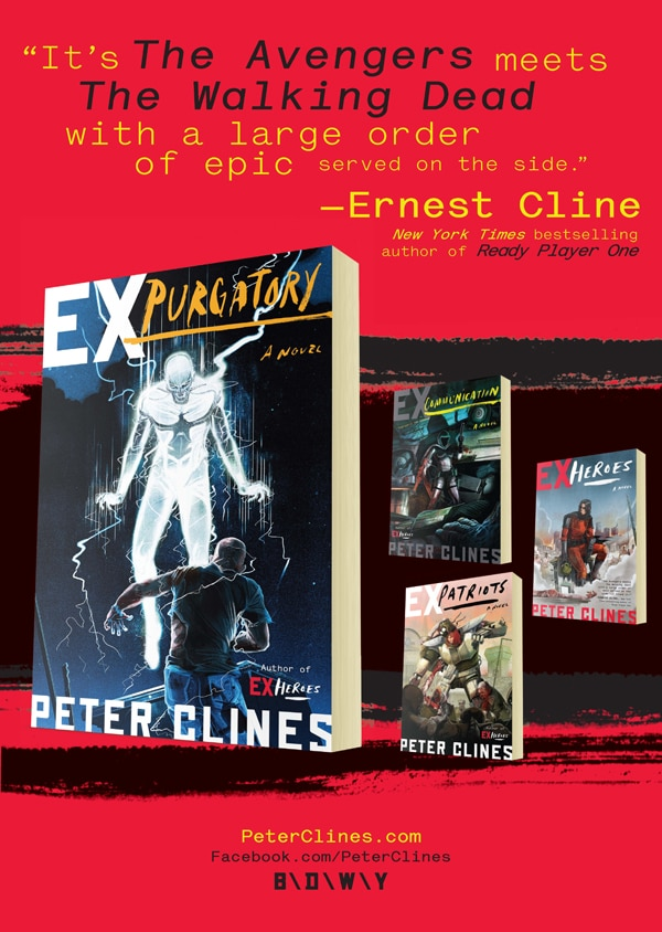 Win a Full Set of Peter Clines' Four-Book Ex-Heroes Series