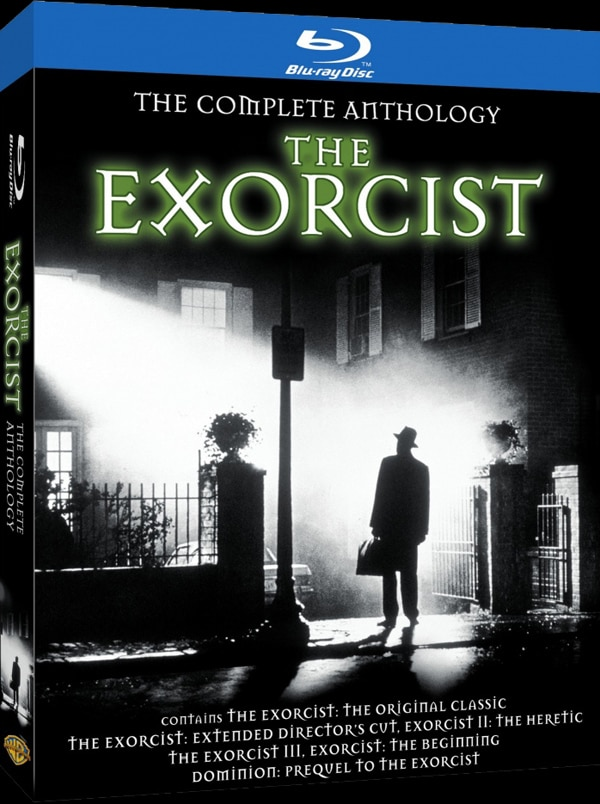 exorcist complete blu ray - The Exorcist Blu-ray Anthology Announced