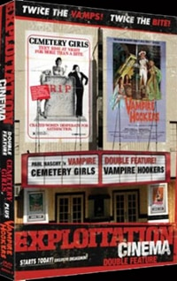Exploitation Cinema: Cemetery Girls and Vampire Hookers DVD review (click for larger image)