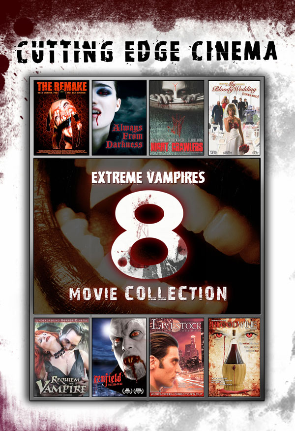 Bite Into the Eight-Movie Extreme Vampires Set on July 17th