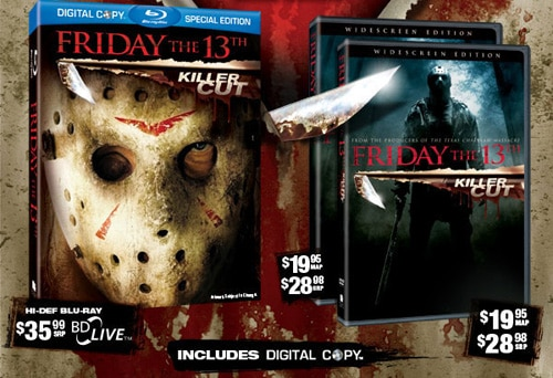 Friday the 13th Remake Blu-ray / DVD Art