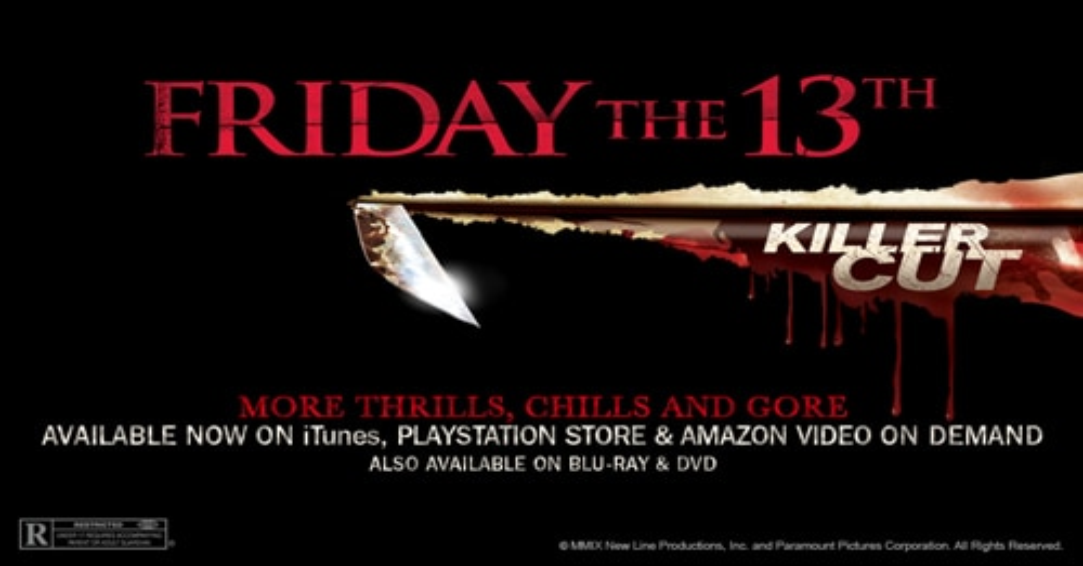 Friday the 13th 2009 Killer Cut