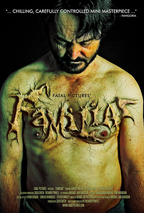 Freaky Short Flick Familiar Accepted into Fantasia International Film Festival 2012