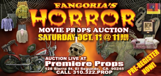 DC to Co-Sponsor Live Horror Auction