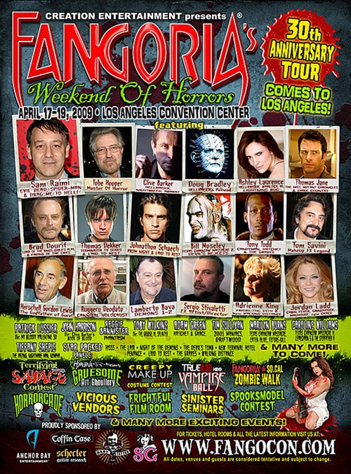The Fangoria Weekend of Horrors (click for larger image)