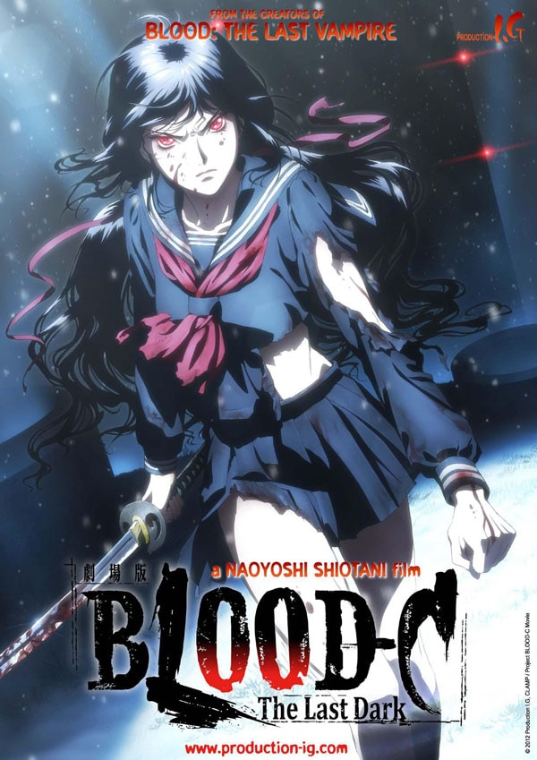 Fantasia 2012 Image Explosion: Blood-C, Chained, Crave, Despite the Gods, The Human Race, Dead Sushi