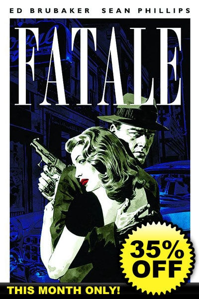 Artwork for Fatale Issue #2