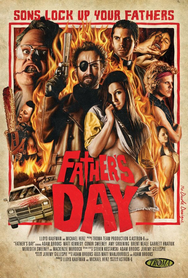 fathersday - Dr. Gash and Ms. Vampy's Top 4 Tips for a Frightfully Fantastic Father's Day