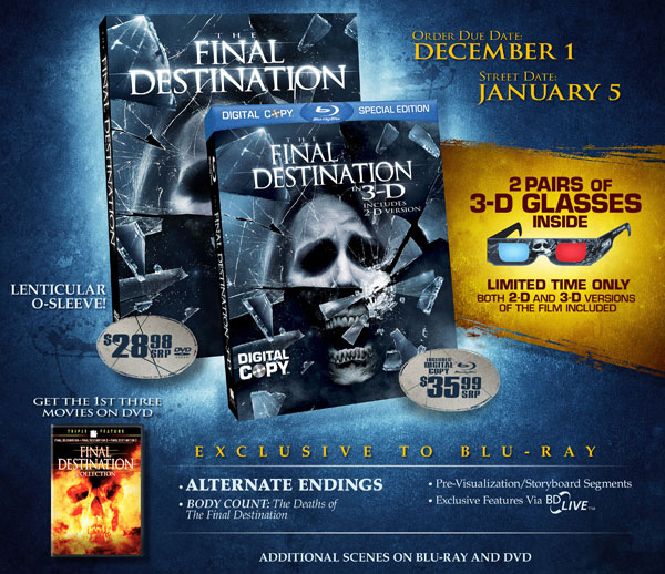 The Final Destination Crashes onto Blu-ray and DVD