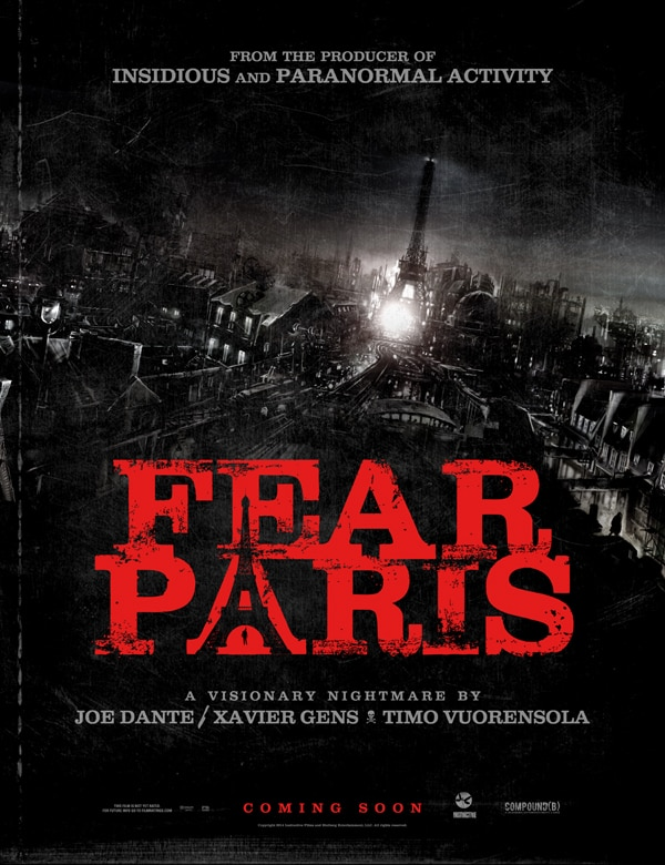 fear paris poster - Midnight Meat Train and The Devil Inside Directors Join Anthology Fear Paris
