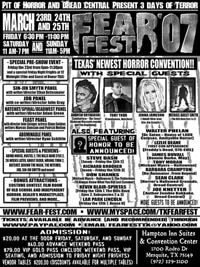 Fear Fest flyer (click to see it full size!)