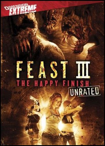 Feast 3: The Happy Finish DVD