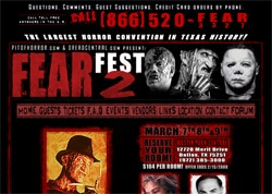 Fear Fest 2 site has launched!