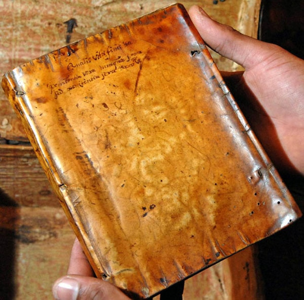 flesh 1 - Harvard Confirms Book Bound in Human Skin; Leatherface Gets a Library Card!