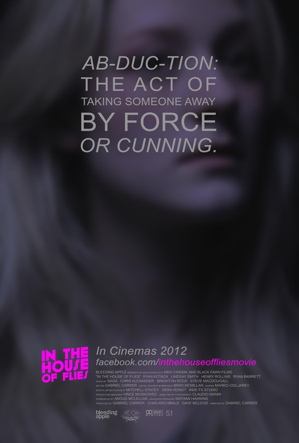 """fliesnew2 - In the House of Flies Kicks Off its """"Abduction"""" Campaign with Two New Posters"""
