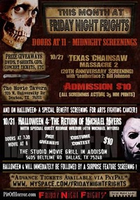 Friday Night Frights returns with TCM2 and Halloween 4!