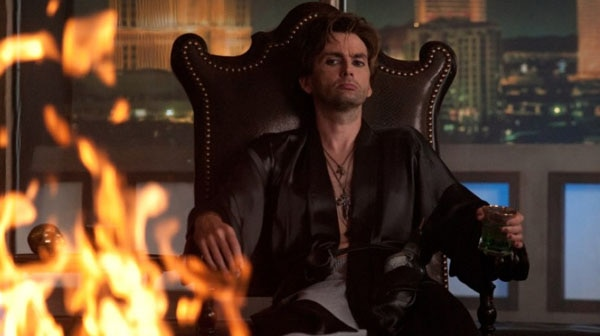 Fright Night 3D's Peter Vincent is on Fire