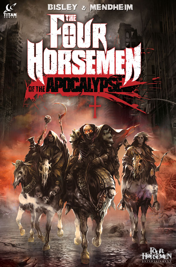 Trailer and More Details on The Four Horsemen of the Apocalypse Hardcover Graphic Novel