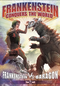 Frankenstein Conquers the World DVD (click for larger image)