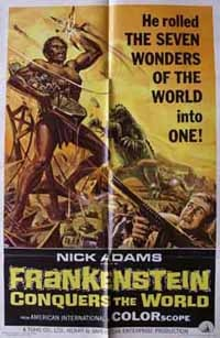 Frankenstein Conquers the World finall on it's way!