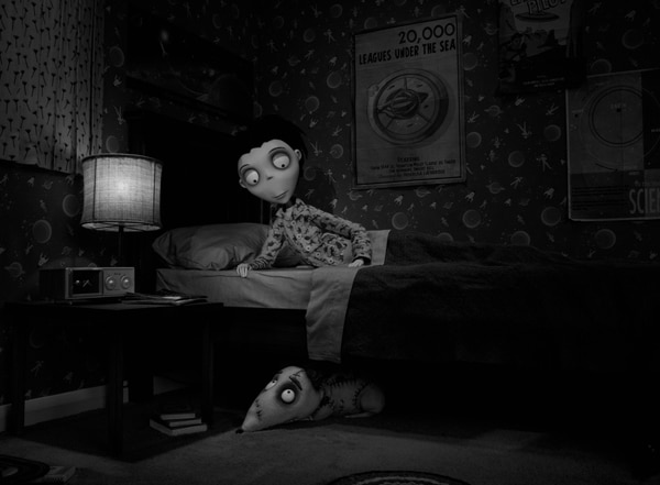 A New Still from Tim Burton's Frankenweenie