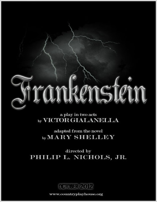 Phil Nichols' Stage Production of Frankenstein