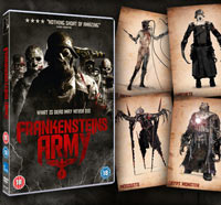 UK Readers: Join Frankenstein's Army on DVD and Score Collectible Art Cards!