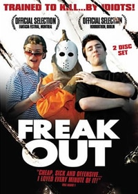 Freak Out DVD (click for larger image)