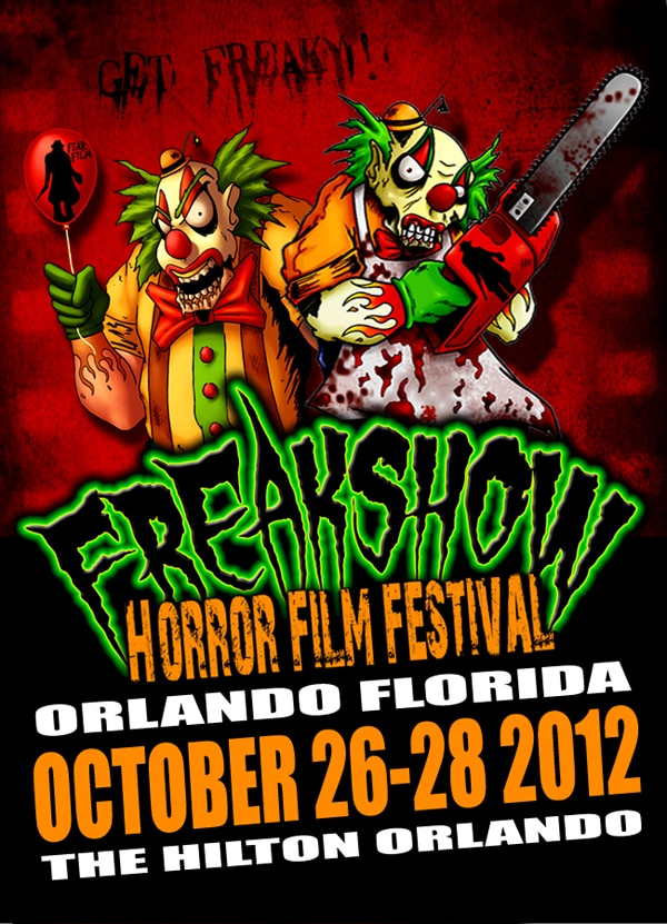 freakshow - Orlando's Freak Show Horror Film Festival to Honor Robert Englund on October 28th