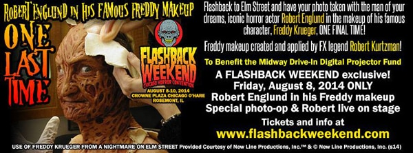 Flashback Weekend 2014 Freddy
