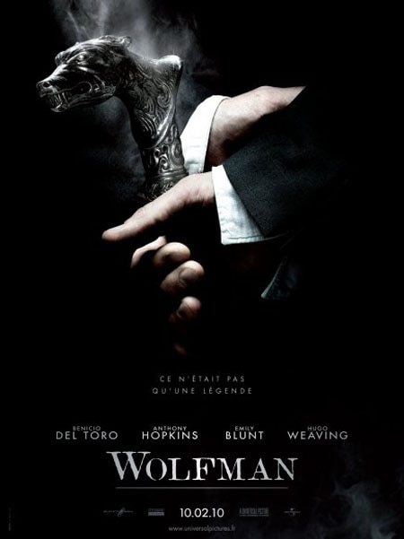 New French Wolfman Poster