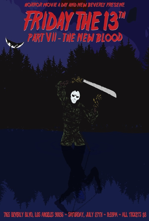 NewBev to Present Midnight Showing of Friday the 13th Part VII: The New Blood on July 27th
